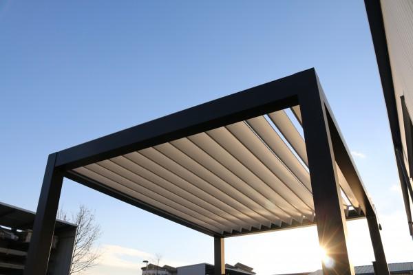 Aluminium Lamellenpavillon 4x3m, Pavillon