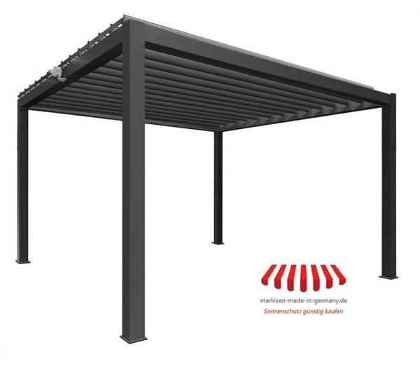 "Pergola Pavillon ""SUNNY"" 400 cm x 334 cm Lamellen Pergola"