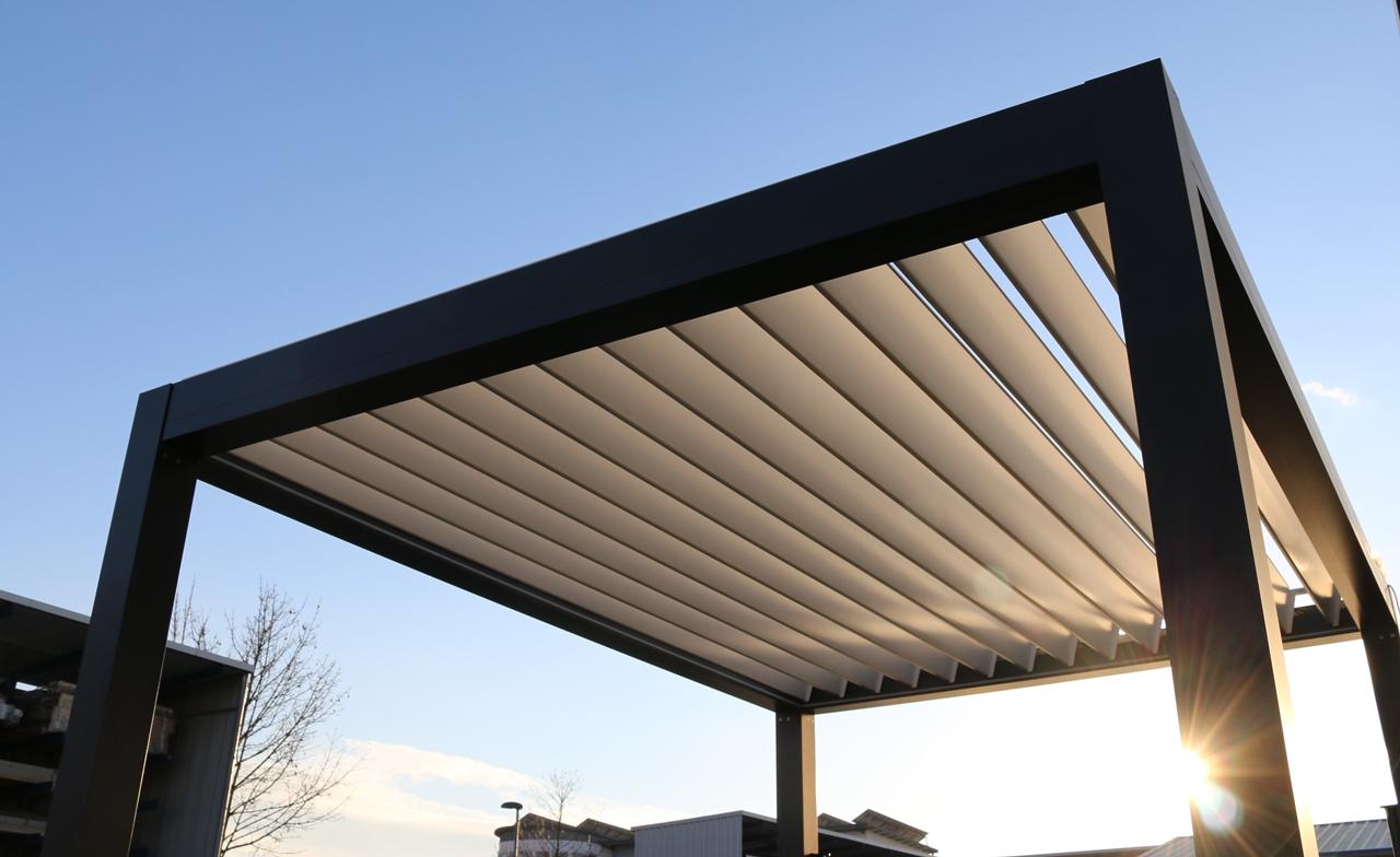 Aluminium Lamellenpavillon