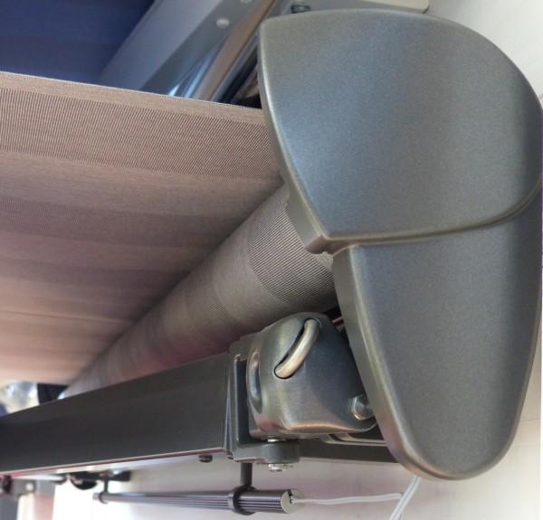Halbkassettenmarkise 3,5 x 2,5 m Hülsenmarkise Breite 350 cm x 250 cm