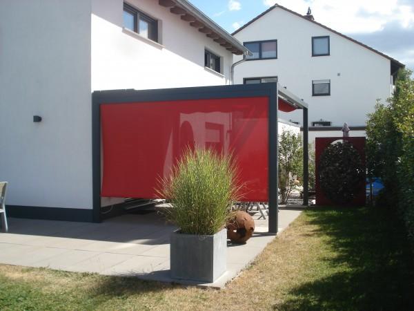 Pergola Pavillon mit Markisenstoffdach