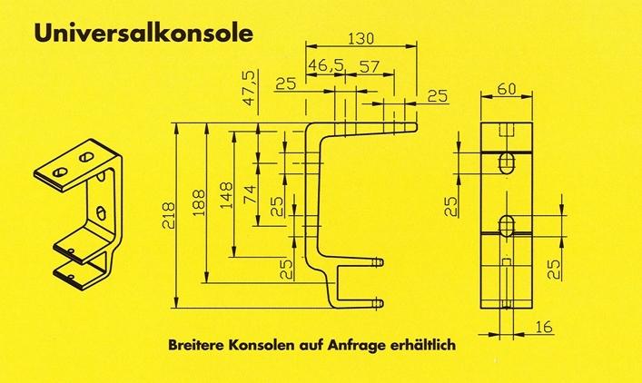 Markisen-made-in-Germany-Universal-Konsolen-wandmontage-zeichnung