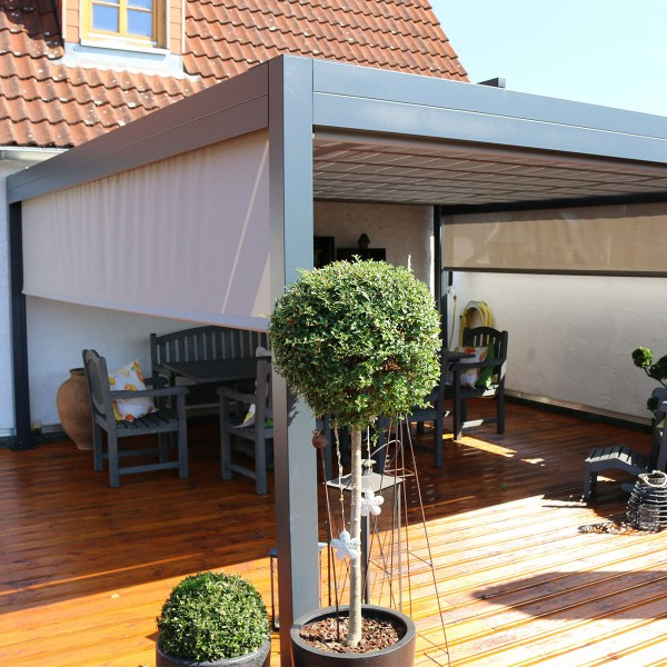 Sonnen Pavillon Pergola Markisen made in Germany