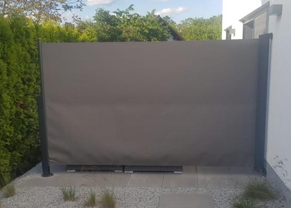 Seitenrollo Seitenmarkise Seitenschirm 175 cm hoch